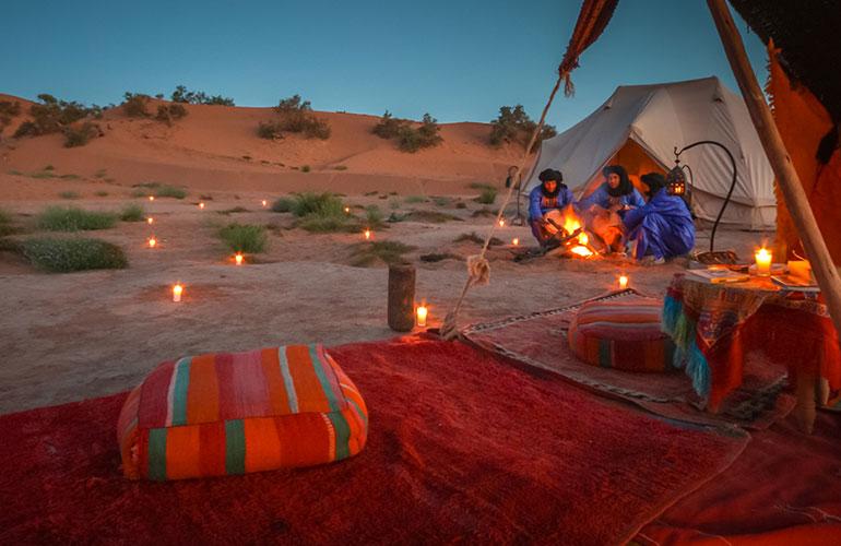 Excursión compartida 2 días desierto de Zagora desde Marrakech