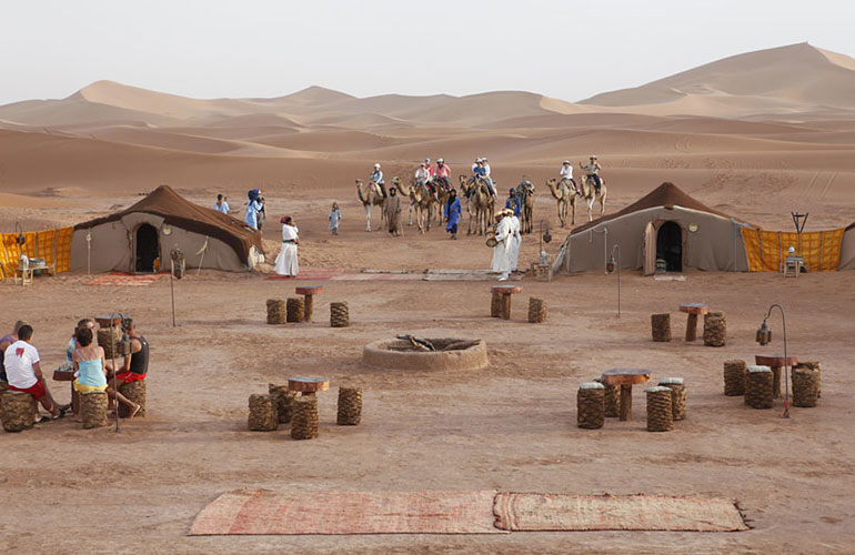 Tour compartido de 3 días al desierto de Merzouga desde Marrakech
