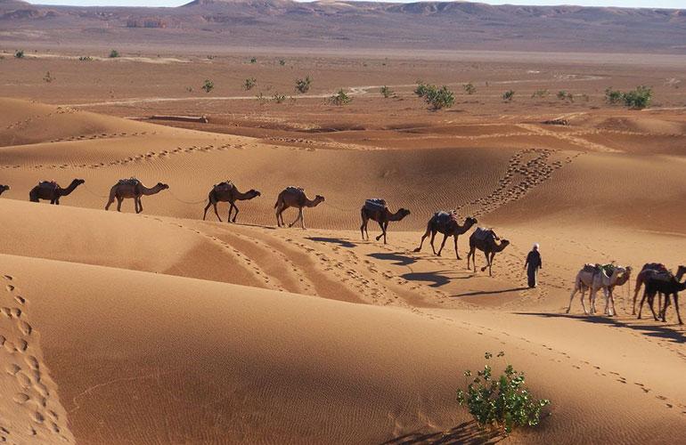 Tour de 4 días al desierto de Erg Chigaga desde Marrakech