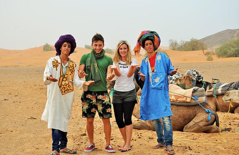 Excursión de tres días de Marrakech a Fez via Merzouga